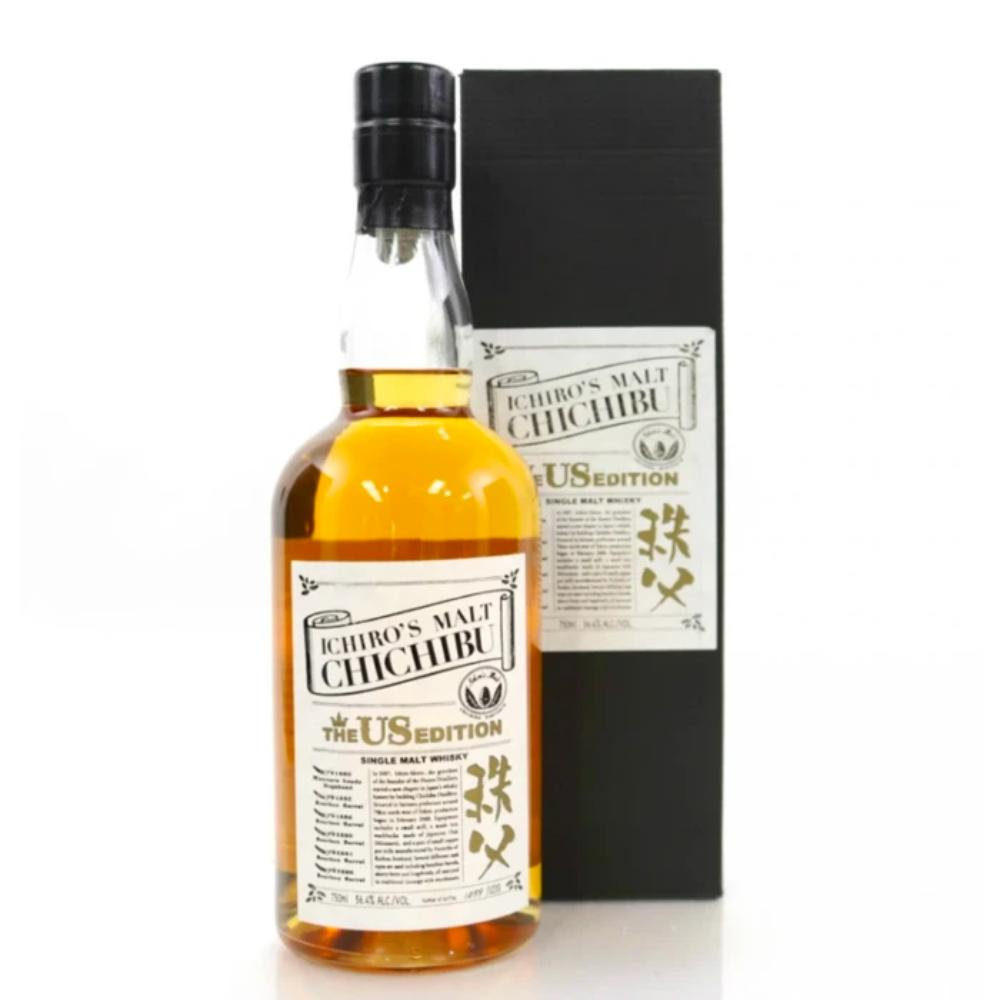 Ichiro's Malt Chichibu The US Edition 2019 Single Malt Whiskey Japanese Whisky Ichiro's Malt Whiskey