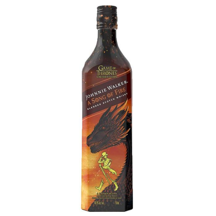 Johnnie Walker a Song of Fire Scotch Johnnie Walker