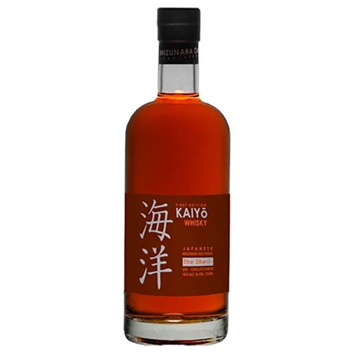 Kaiyo The Sheri Japanese Mizunara Oak Finish Whisky Japanese Whisky Kaiyō