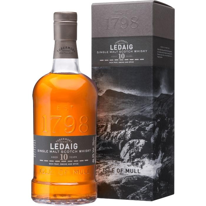 Ledaig 10 Year Old Scotch Tobermory Distillery