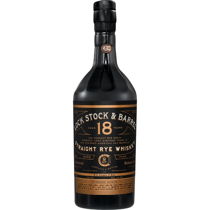 Lock Stock & Barrel 18 Year Old Rye Whiskey Lock Stock & Barrel