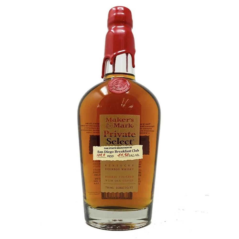 "Maker's Mark Private Barrel Select ""San Diego Breakfast Club"" Bourbon Maker's Mark"