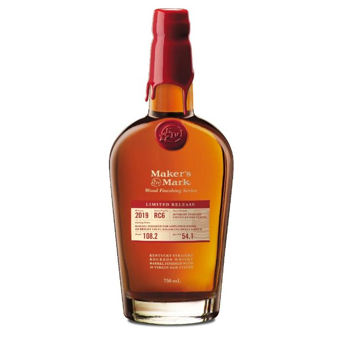 Maker's Mark Wood Finishing Series 2019 Limited Release: Stave Profile RC6 Bourbon Maker's Mark