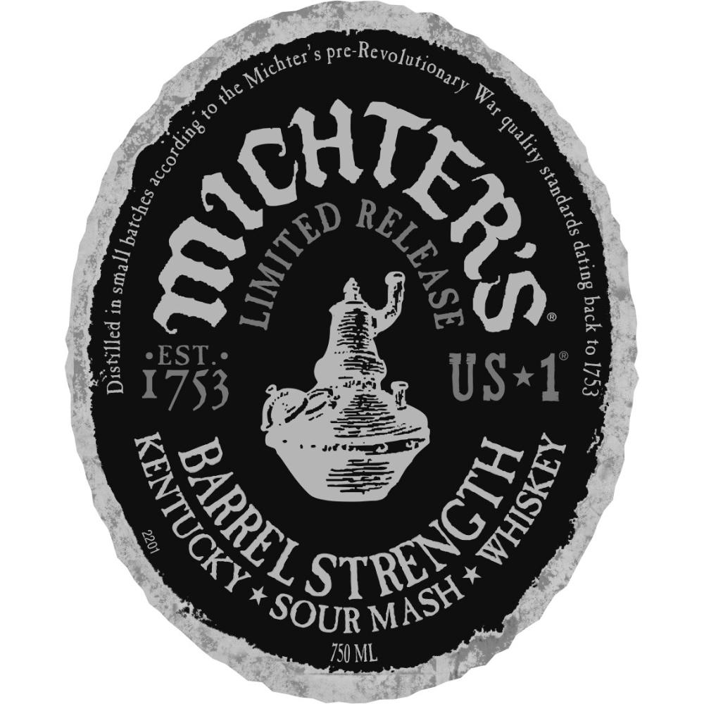 Michter's US 1 Barrel Strength Sour Mash American Whiskey Michter's