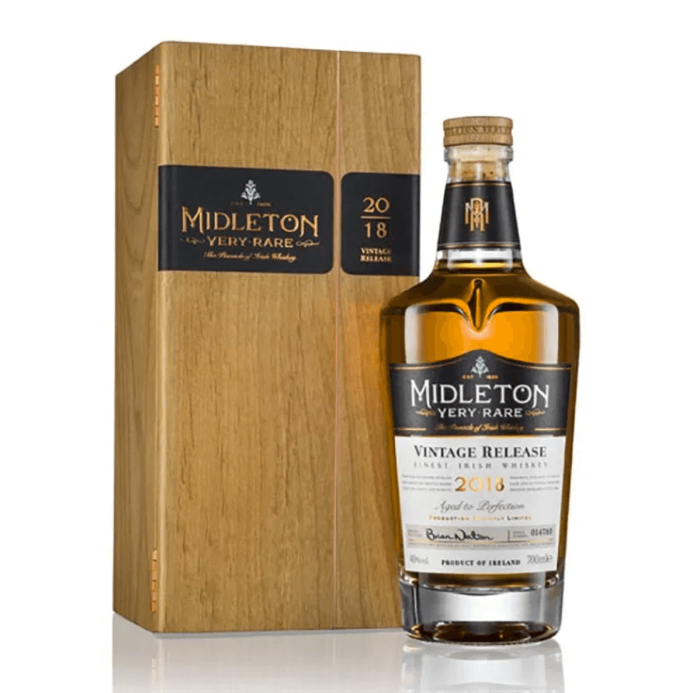 Midleton Very Rare Vintage Release 2018 Irish whiskey Midleton Very Rare