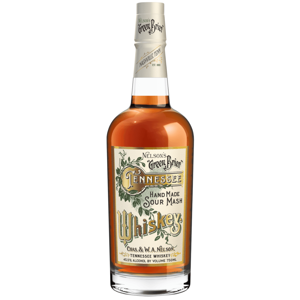 Nelson's Green Brier Handmade Sour Mash Whiskey
