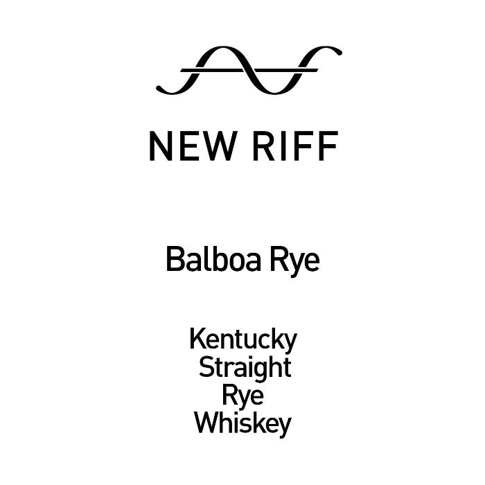 New Riff Balboa Rye Rye Whiskey New Riff Distilling