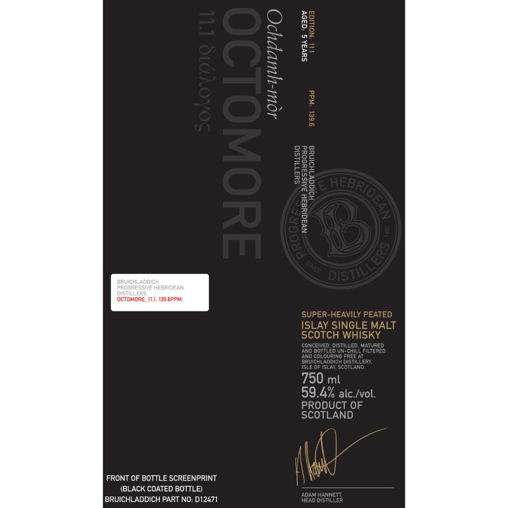 Octomore 11.1 Scotch Octomore