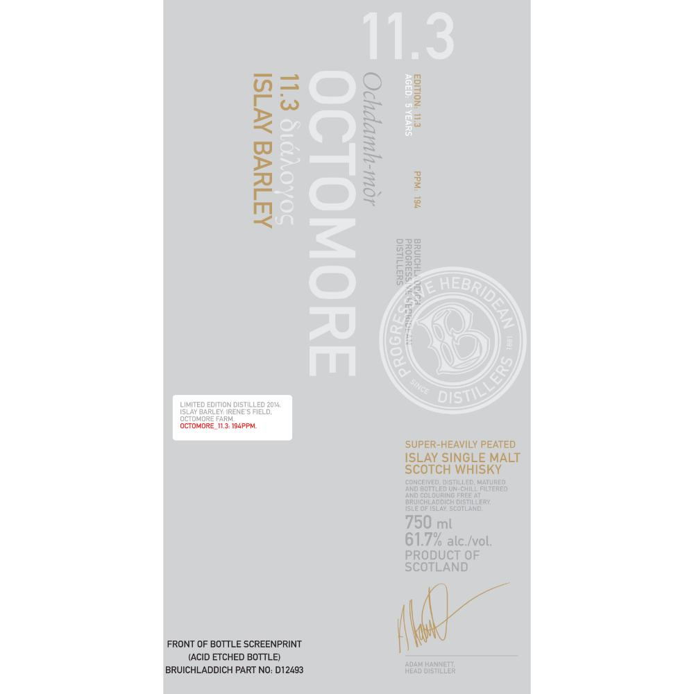 Octomore 11.3 Scotch Octomore