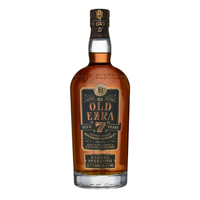 Old Ezra 7 Year Old Barrel Strength Straight Bourbon Whiskey Bourbon Ezra Brooks