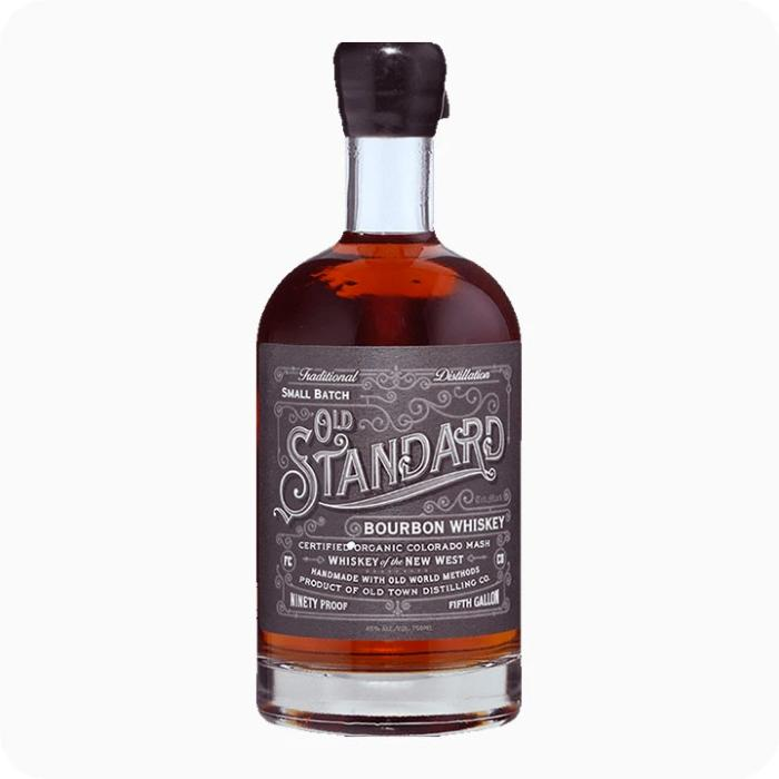Old Standard Organic Bourbon Whiskey Bourbon Old Town Distilling