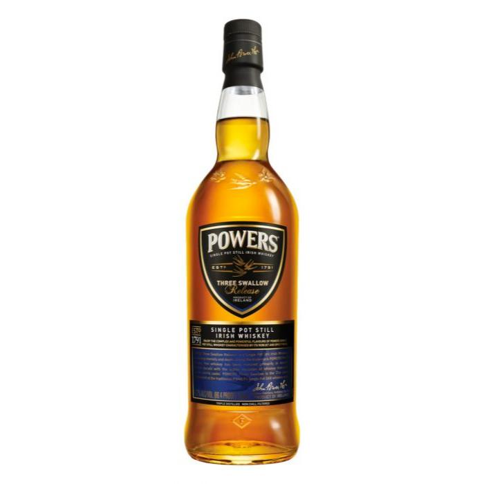 Powers Three Swallow Single Pot Still Irish Whiskey Irish whiskey Powers Irish Whiskey