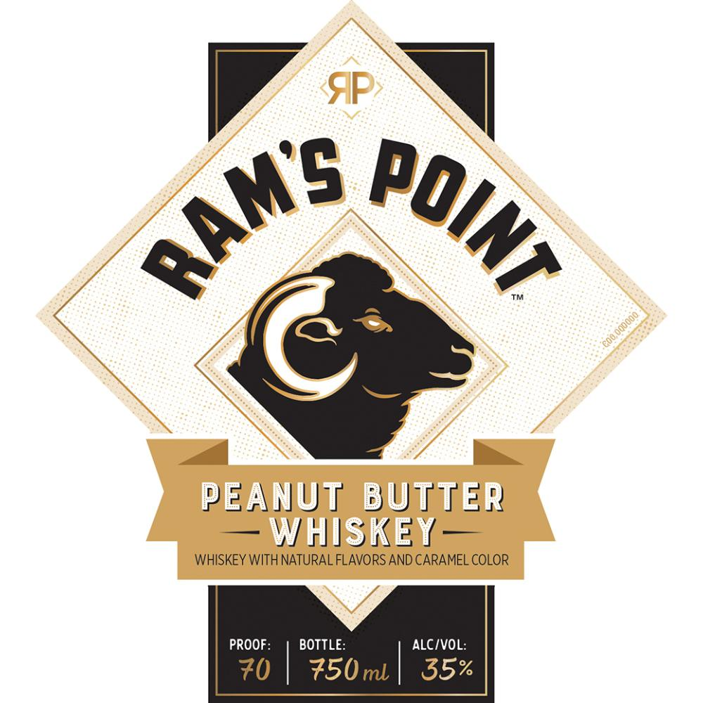 Ram's Point Peanut Butter Whiskey American Whiskey Sazerac
