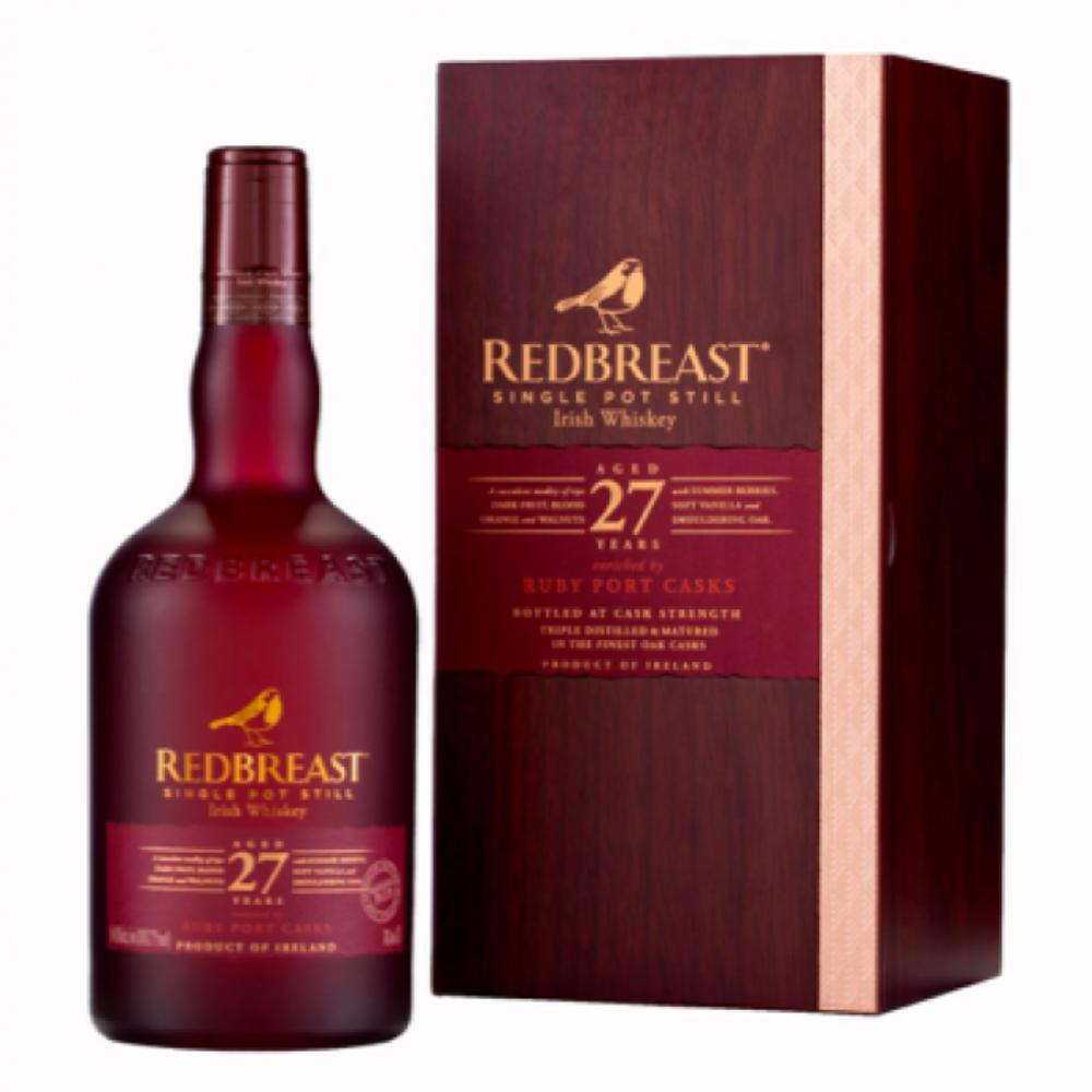 Redbreast 27 Year Old Ruby Port Casks Irish whiskey Redbreast