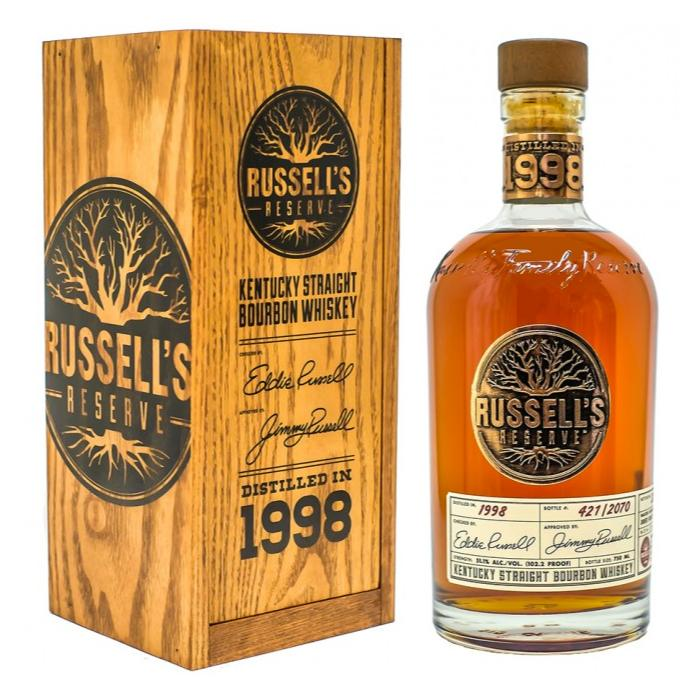 Russell's Reserve 2002 Rye Whiskey Russell's Reserve