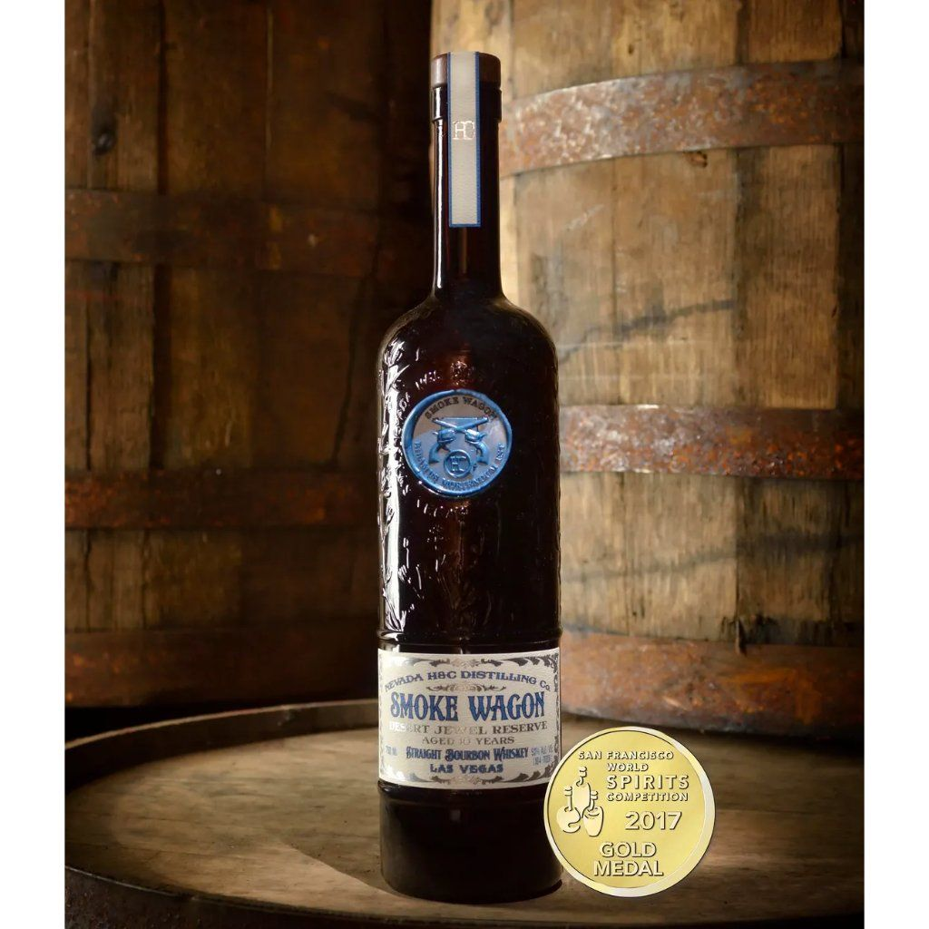 Smoke Wagon Desert Jewel Reserve 10 Year Bourbon Smoke Wagon Bourbon