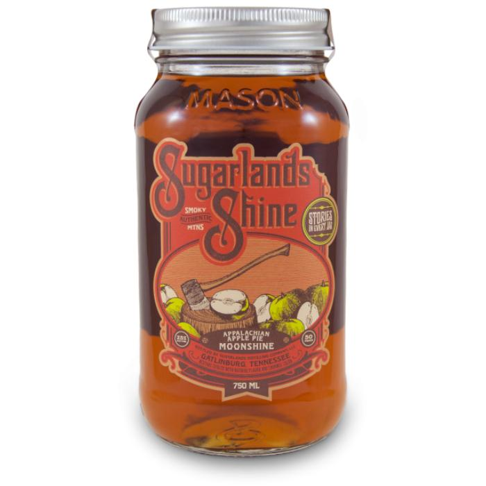 Sugarlands Appalachian Apple Pie Moonshine Moonshine Sugarlands Distilling Company