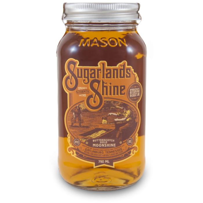 Sugarlands Butterscotch Gold Moonshine Moonshine Sugarlands Distilling Company