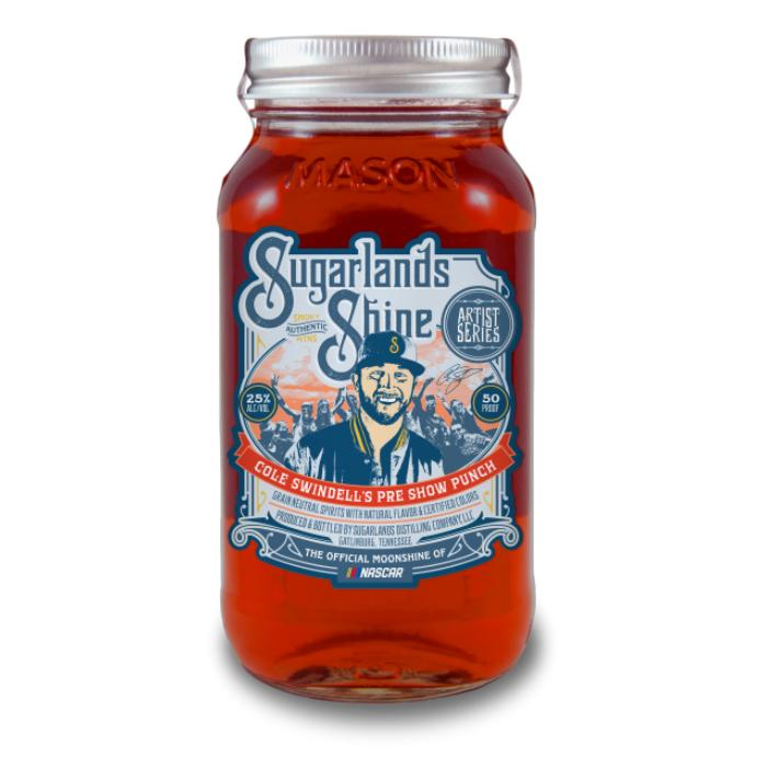 Sugarlands Cole Swindell's Pre Show Punch Moonshine Sugarlands Distilling Company
