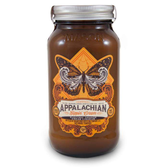 Sugarlands Electric Orange Sippin' Cream Liqueur Sugarlands Distilling Company