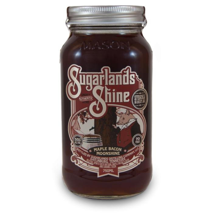 Sugarlands Maple Bacon Moonshine Moonshine Sugarlands Distilling Company