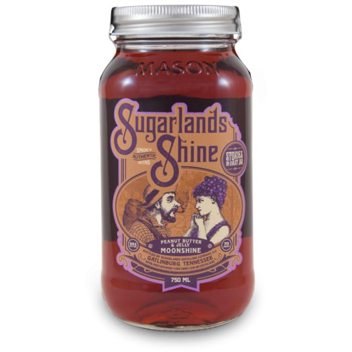 Sugarlands Peanut Butter and Jelly Moonshine Moonshine Sugarlands Distilling Company