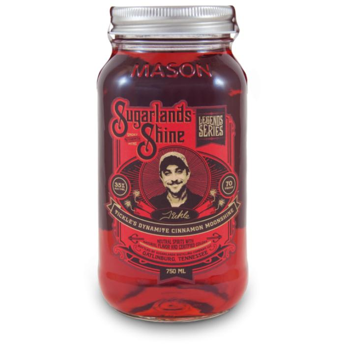 Sugarlands Tickle's Dynamite Cinnamon Moonshine Moonshine Sugarlands Distilling Company