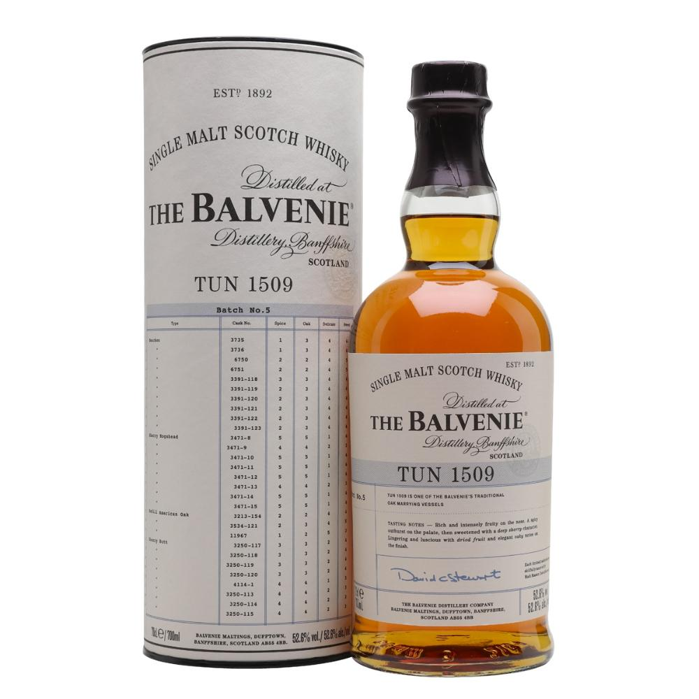 The Balvenie Tun 1509 Batch 5 Scotch The Balvenie