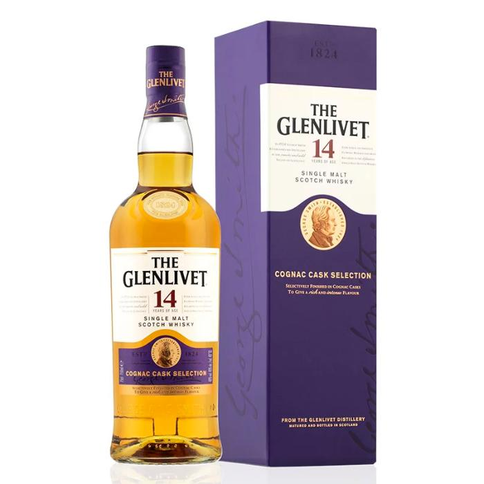The Glenlivet 14 Cognac Cask Selection Scotch The Glenlivet