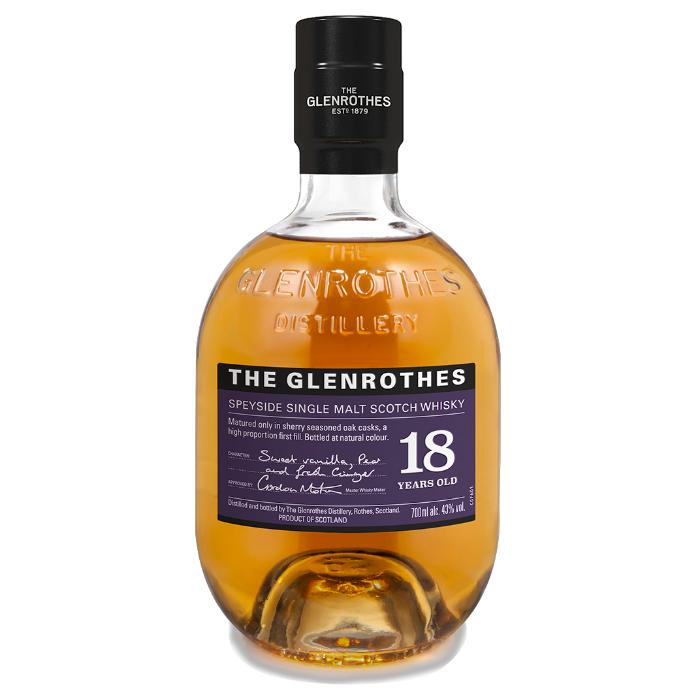 The Glenrothes 18 Year Old Scotch The Glenrothes