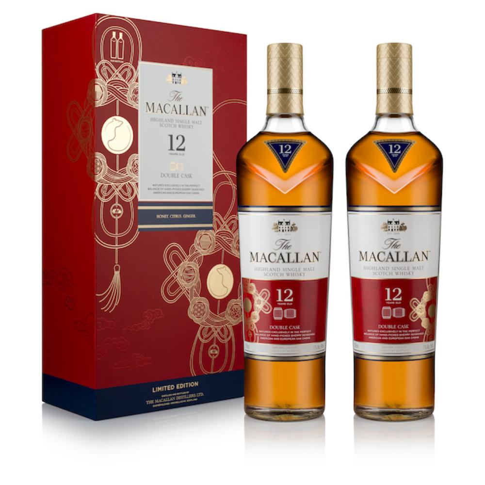 The Macallan Lunar New Year Gift Set Scotch The Macallan