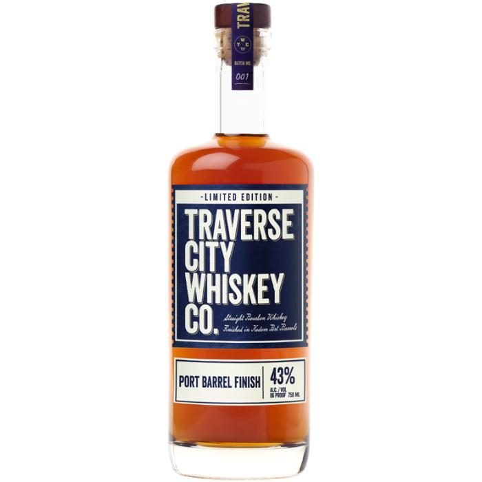 Traverse City Whiskey Co. Port Barrel Finish Bourbon Traverse City Whiskey Co.