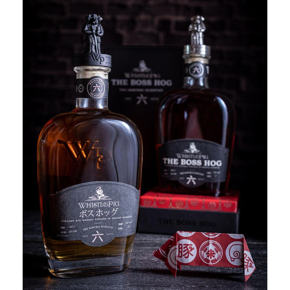 WhistlePig The Boss Hog Edition 六 – The Samurai Scientist Katakana Edition Rye Whiskey WhistlePig