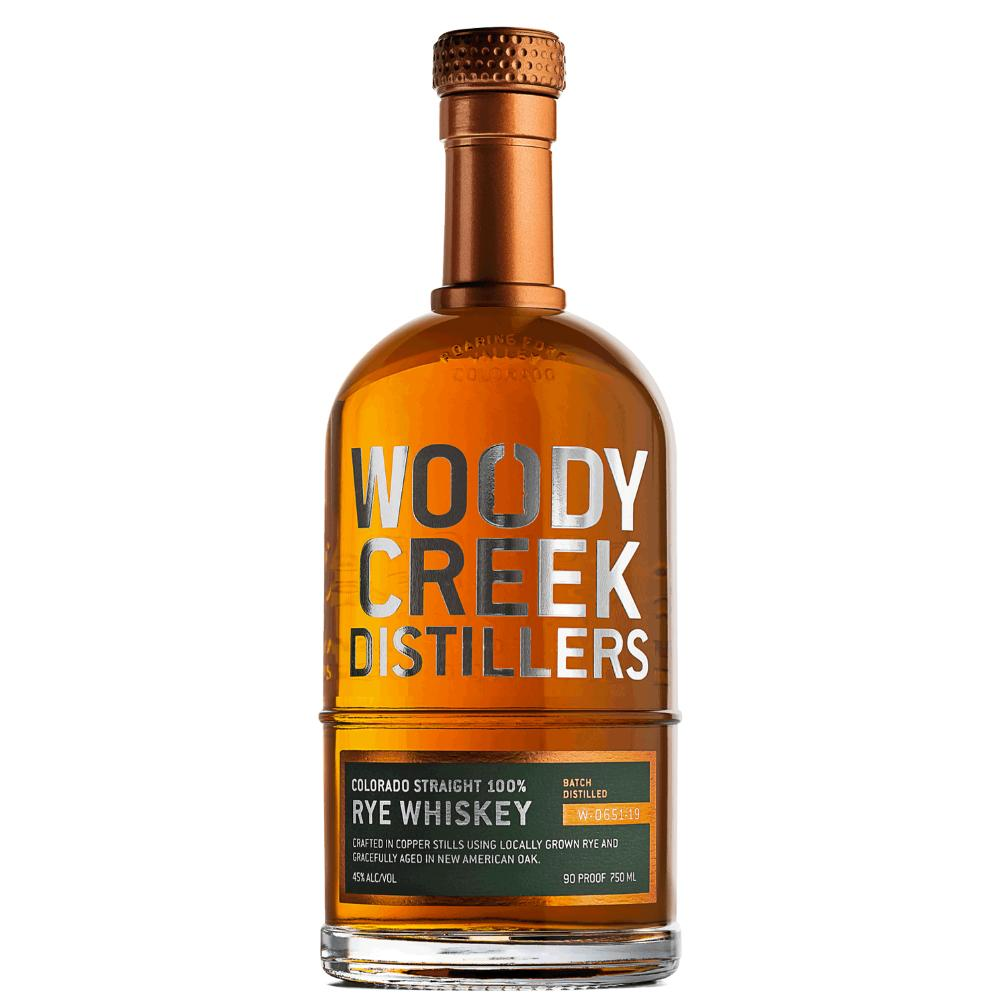 Woody Creek Distillers Rye Whiskey Rye Whiskey Woody Creek Distillers