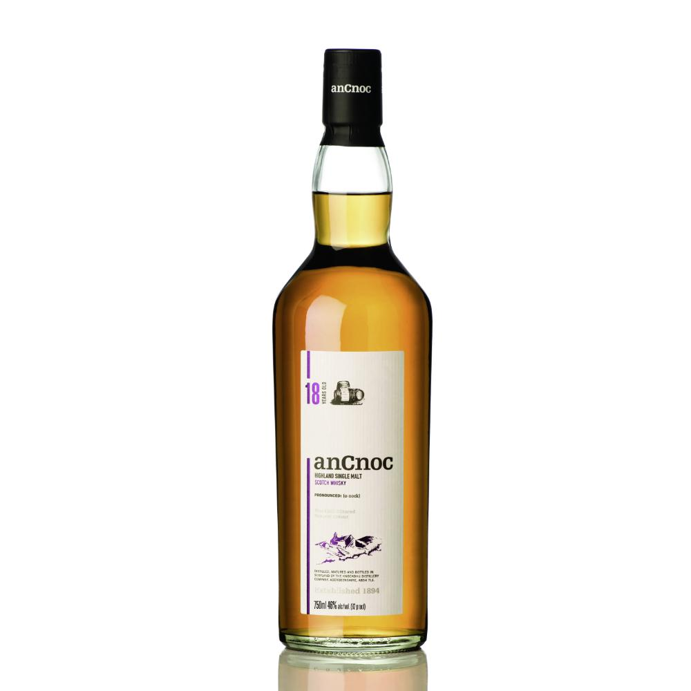 anCnoc 18 Years Old Scotch anCnoc