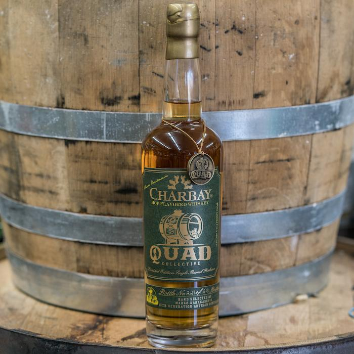 Charbay Quad Collective Hop Flavored Whiskey American Whiskey Charbay