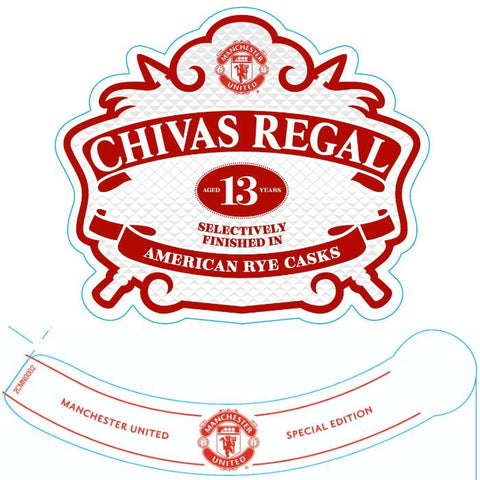 Chivas Regal 13 Year Old Manchester United Special Edition