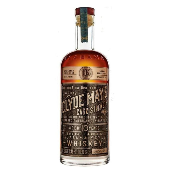 Clyde May's 10 Year Old Cask Strength Bourbon Clyde May's