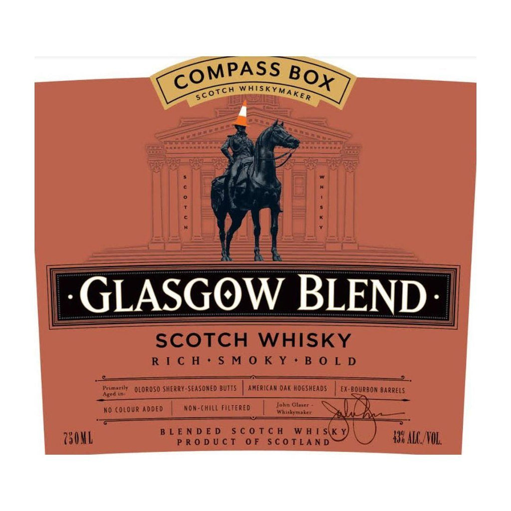 Compass Box Glasgow Blend Scotch Whisky Scotch Whisky Compass Box