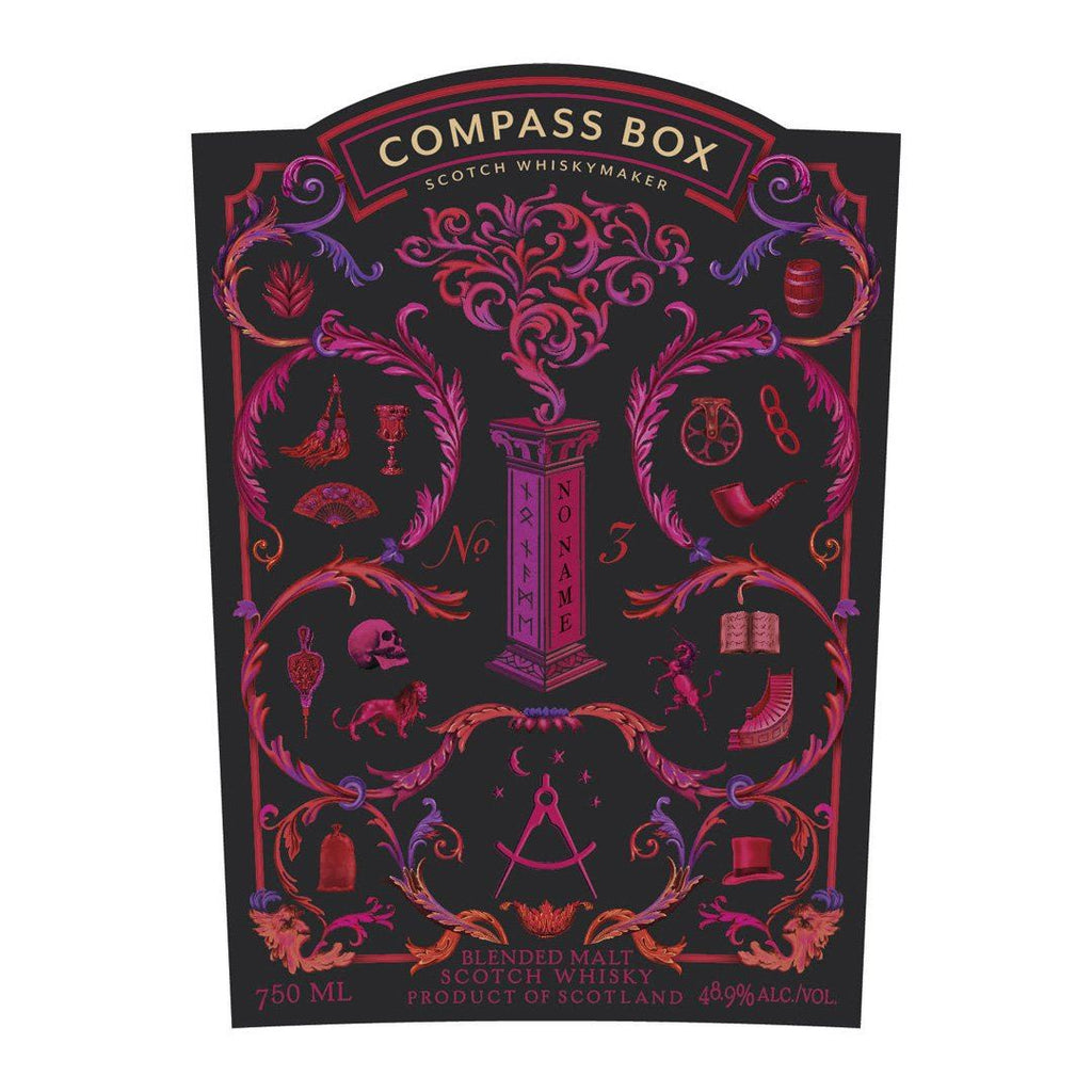 Compass Box No Name No. 3 Scotch Whisky Compass Box