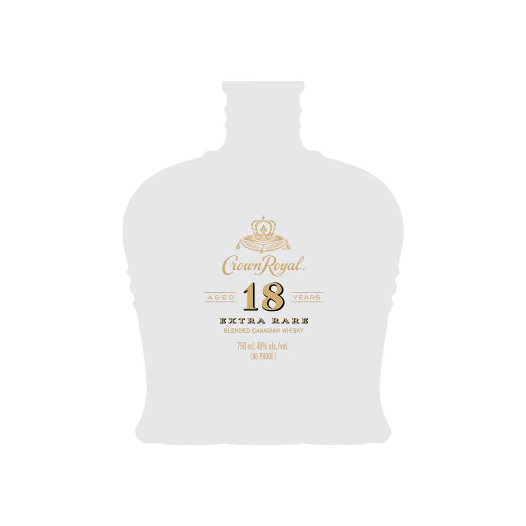 Crown Royal 18 Year Old Extra Rare Canadian Whisky Crown Royal