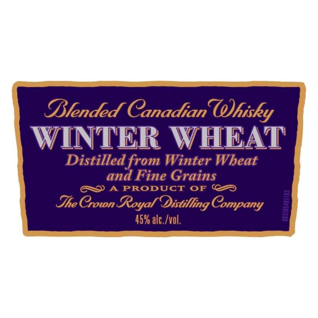 Crown Royal Noble Collection Winter Wheat Canadian Whisky Crown Royal