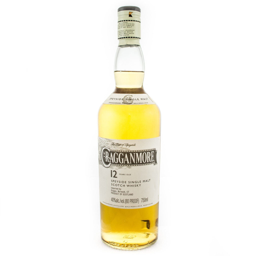 Cragganmore 12 Years Old Scotch Cragganmore