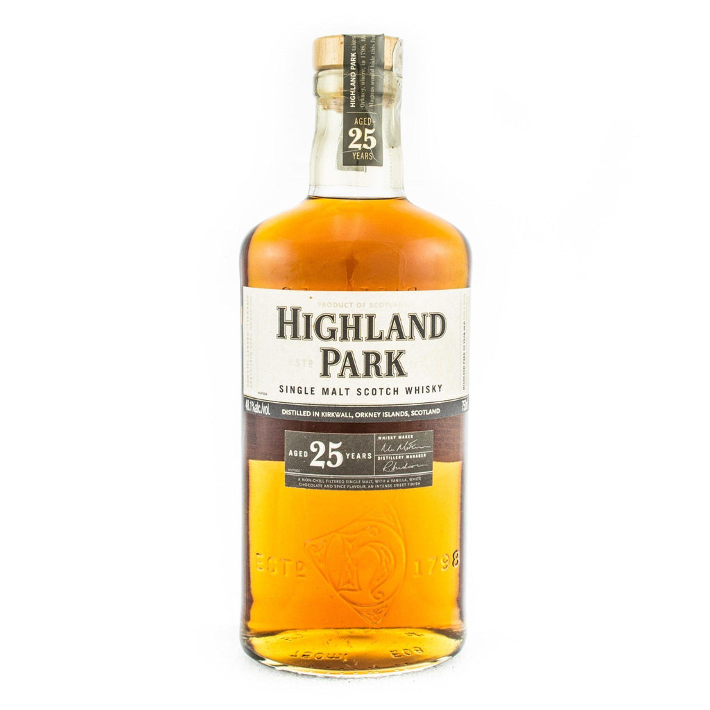 Highland Park 25 Year Old Scotch Highland Park