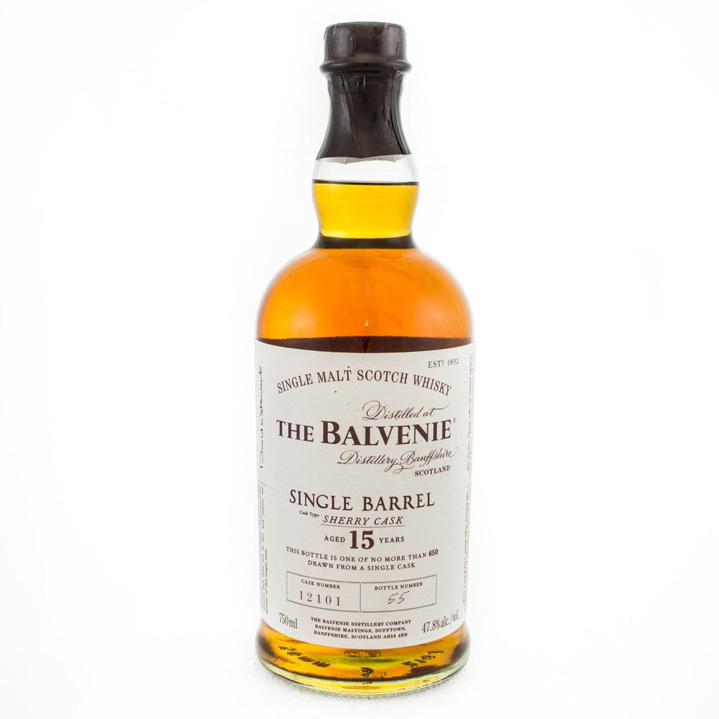 The Balvenie Single Barrel 15 Scotch The Balvenie