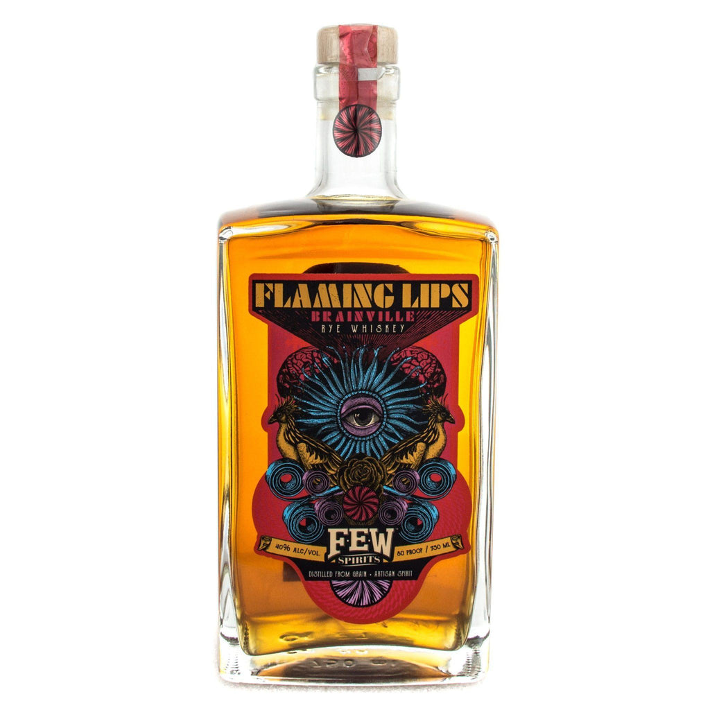 Flaming Lips Brianville Rye Rye Whiskey FEW Spirits