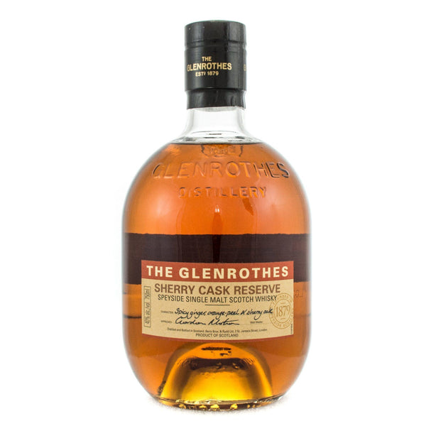 The Glenrothes Sherry Cask Reserve Scotch The Glenrothes
