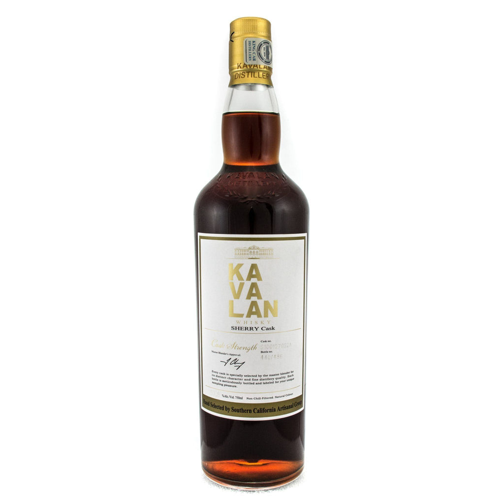 Kavalan Sherry Cask Strength Single Barrel Hand Selected By Artisian Group Of SWS Taiwanese Whisky Kavalan