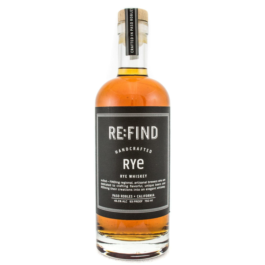 Re:Find Rye Rye Whiskey Re:Find