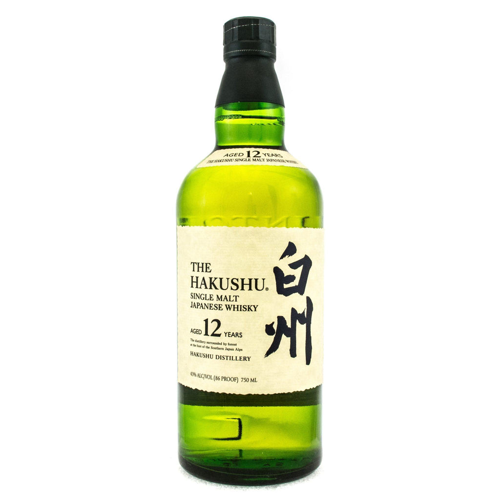 The Hakushu 12 Years Old Japanese Whisky Hakushu